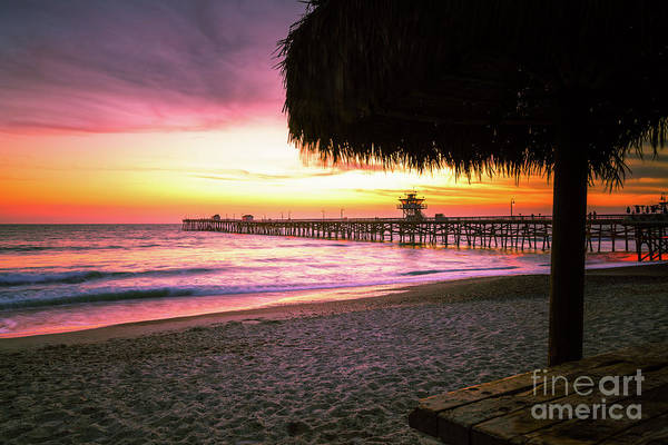 Wall Art - Photograph - San Clemente Pier California Sunset Photo by Paul Velgos