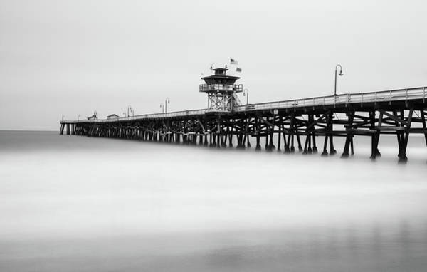 Photograph - San Clemente Pier by Tassanee Angiolillo