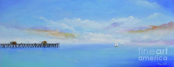 Painting - San Clemente Sail by Mary Scott