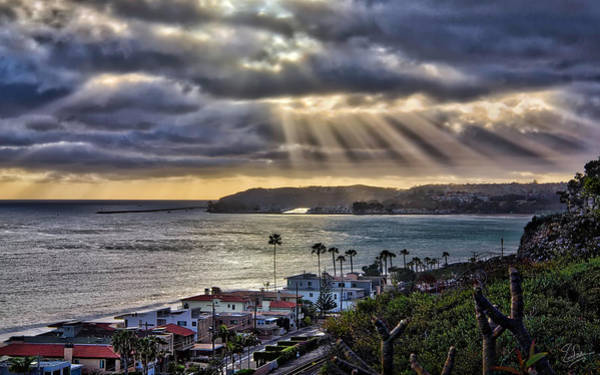 Photograph - San Clemente Sunset 1 by Endre Balogh