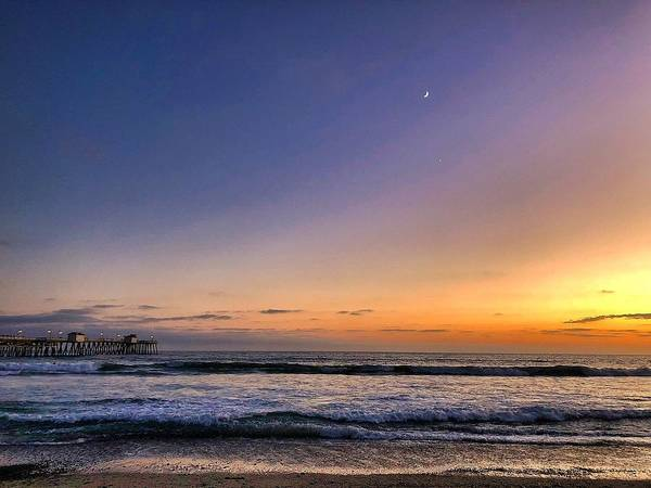 Photograph - San Clemente Sunset by Brian Eberly