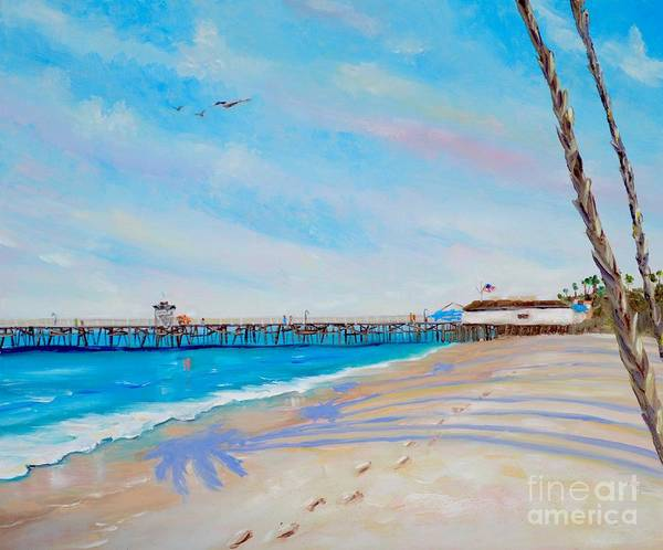 Painting - San Clemente Walk by Mary Scott