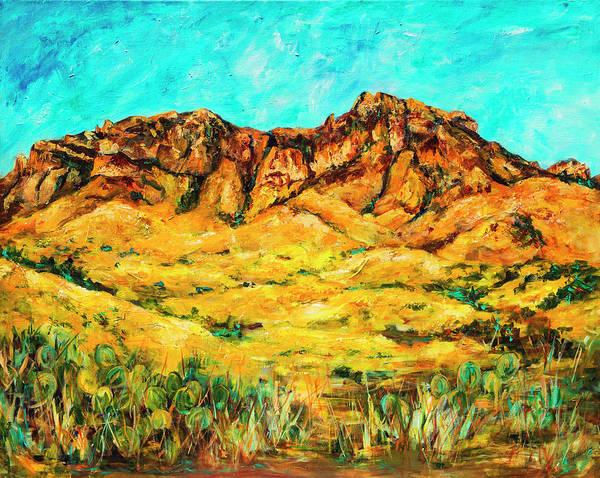 San Cristo Mountains Art Print