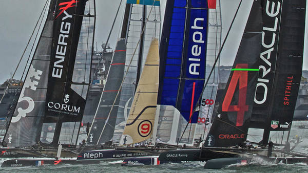 Photograph - San Diego America's Cup 2011 by Steven Lapkin