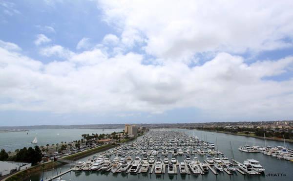 Digital Art - San Diego Bay by Jhiatt