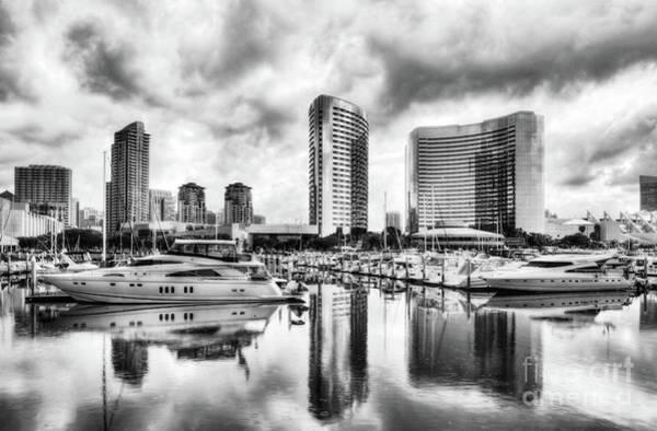 Photograph - San Diego Dreams Bw by Mel Steinhauer