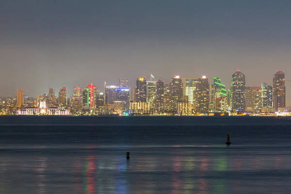 Photograph - San Diego From Across The Bay by M C Hood