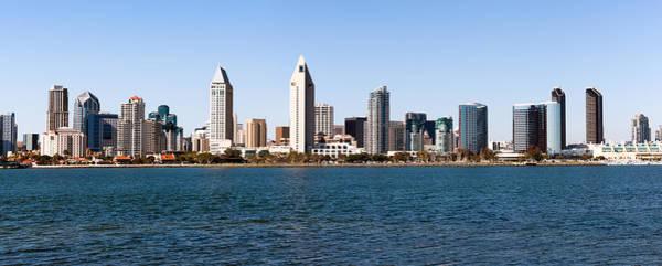 Condos Photograph - San Diego Panorama by Paul Velgos