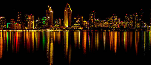 Coronado Photograph - San Diego Panoramic by Bill Gallagher