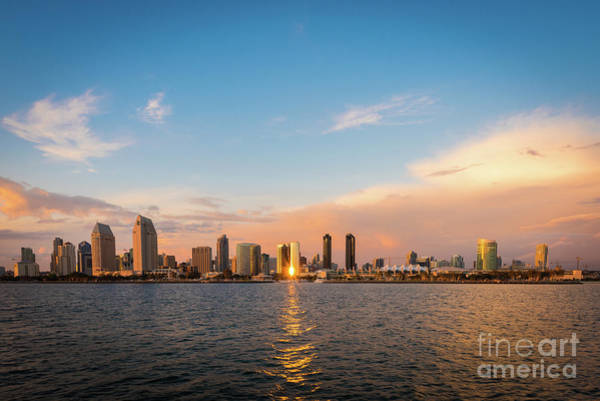 Photograph - San Diego Skyline Reflections by David Levin