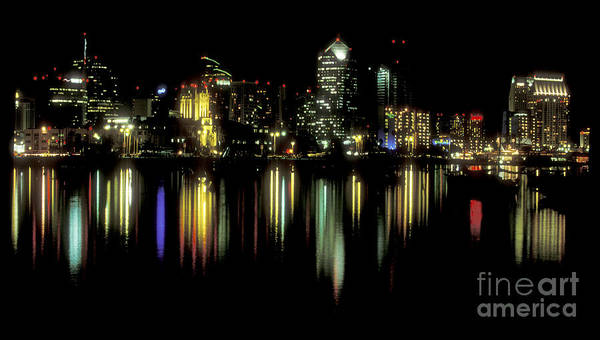 Wall Art - Photograph - San Diego Skyline by Sandra Bronstein