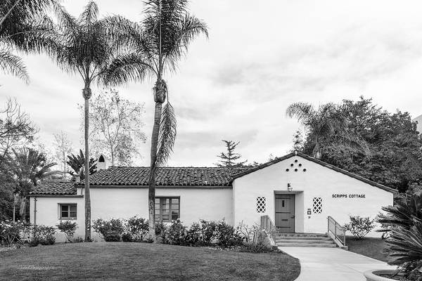 Wall Art - Photograph - San Diego State University Scripps Cottage by University Icons