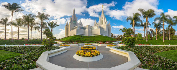 Photograph - San Diego Temple by Dustin  LeFevre