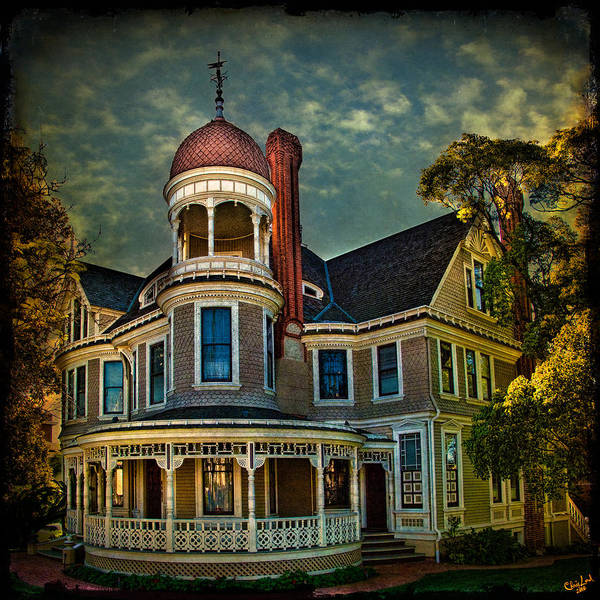 Photograph - San Diego Victorian by Chris Lord