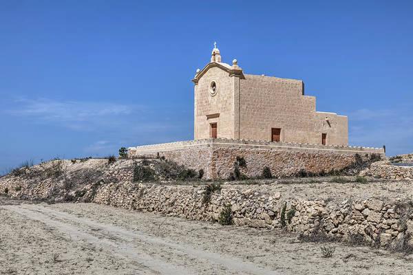 Gozo Wall Art - Photograph - San Dimitri Chapel - Gozo by Joana Kruse