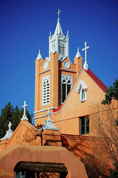 Photograph - San Felipe De Neri Church, Albuquerque, New Mexico by Flying Z Photography by Zayne Diamond