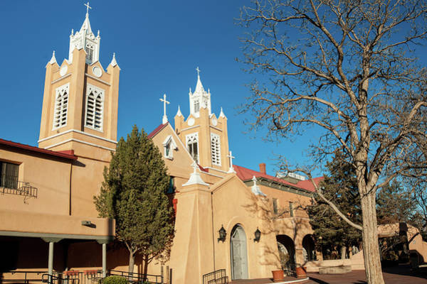 Photograph - San Felipe De Neri Church - Old Town Albuquerque New Mexico by Gregory Ballos