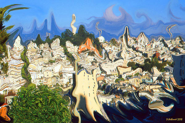 Painting - San Francisco 1906 - Modern Art by Peter Potter