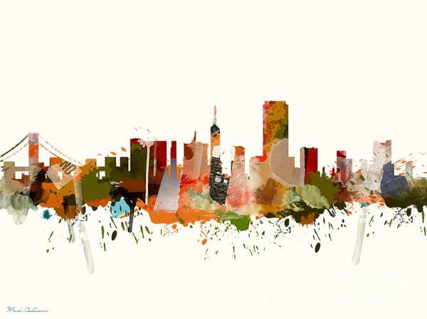 Wall Art - Painting - San Francisco 2 by Mark Ashkenazi