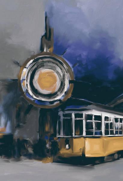Chinatown Painting - San Francisco 555 1 by Mawra Tahreem
