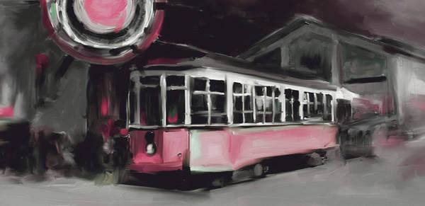 Chinatown Painting - San Francisco 555 4 by Mawra Tahreem