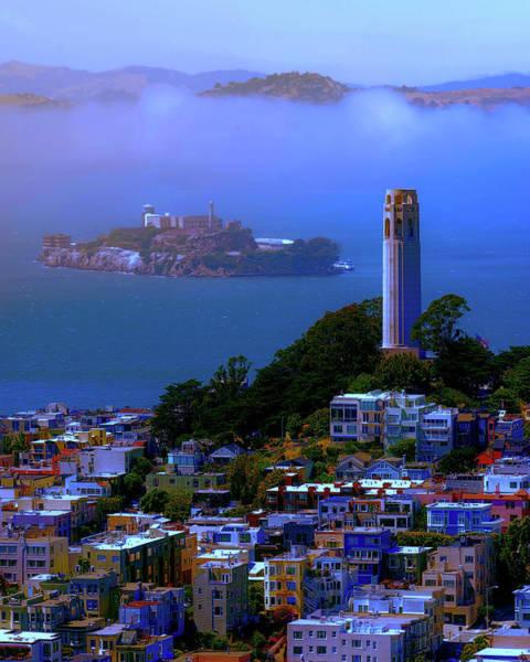 Photograph - San Francisco And Alcatraz by Ericamaxine Price