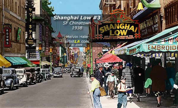 Wall Art - Painting - San Francisco Art Entitled Shanghai Low 3 Circa 1938 by Melvin Hale