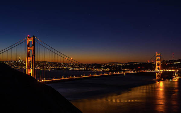 Photograph - San Francisco At Blue Hour by Jack Peterson