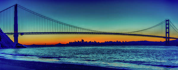 Photograph - San Francisco At Day Break by Jack Peterson