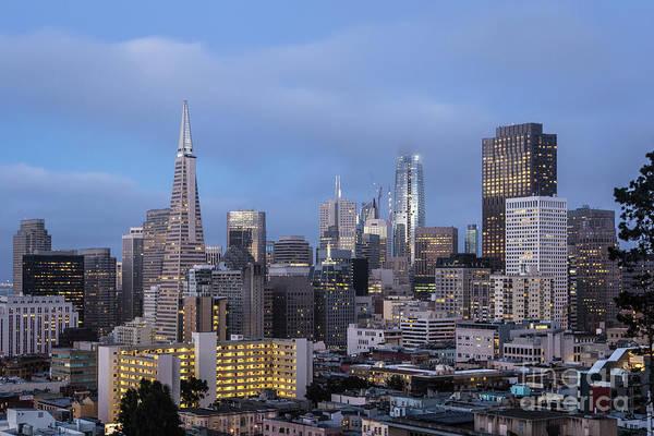 Photograph - San Francisco At Night, Usa by Didier Marti