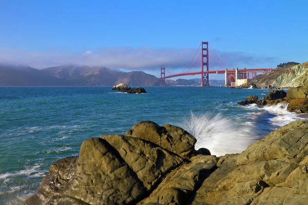 Us West Coast Photograph - San Francisco Baker Beach  by Melanie Viola