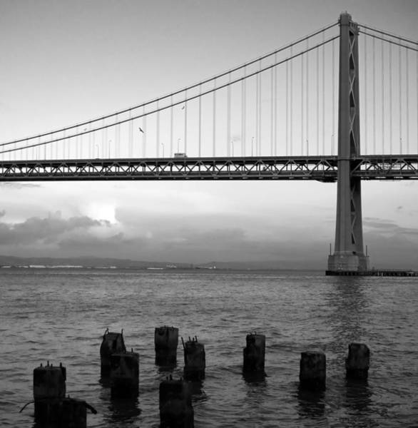 Wall Art - Photograph - San Francisco Bay Bridge by Mandy Wiltse