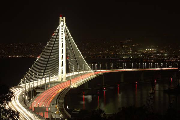 Photograph - San Francisco Bay Bridge New East Span by John King