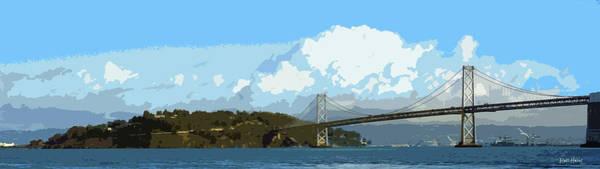 Wall Art - Photograph - San Francisco Bay Bridge by Russ Harris