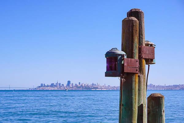Photograph - San Francisco Bay by Lutz Baar