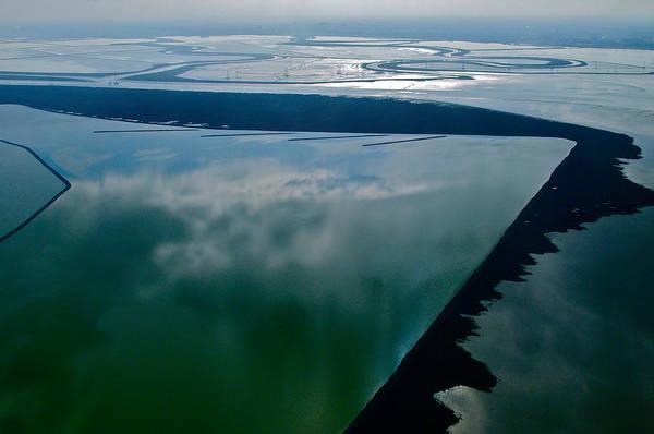 Photograph - San Francisco Bay Salt Flats 3 by Sylvan Adams