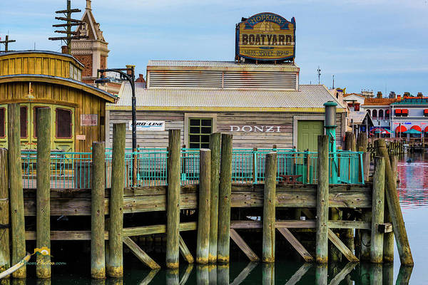Photograph - San Francisco Boat Yard Dock by Jim Thompson