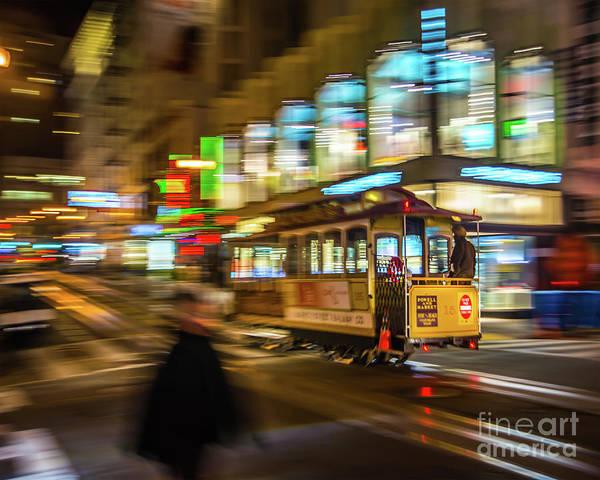 Wall Art - Photograph - San Francisco Cable Car by Michael Tidwell