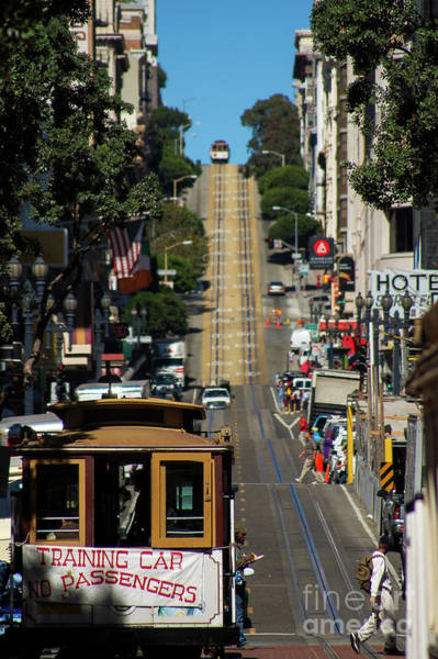 Photograph - San Francisco Cable Cars by Paul Warburton