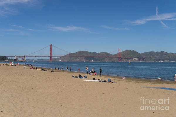 Wall Art - Photograph - San Francisco California Crissy Field East Beach Dsc3088 by Wingsdomain Art and Photography