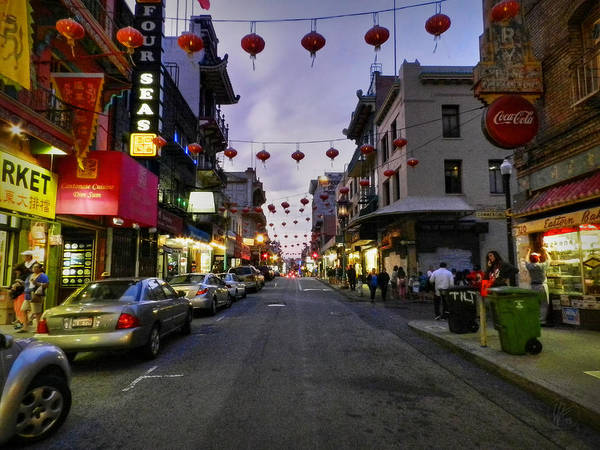 Photograph - San Francisco - Chinatown 008 by Lance Vaughn