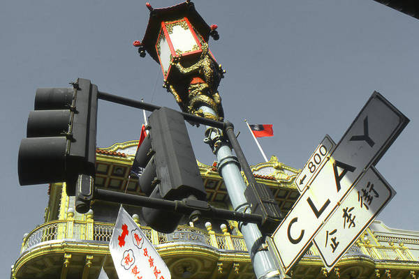 Photograph - Chinatown - San Francisco Highlight by Peter Potter
