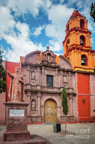 San Miguel De Allende Wall Art - Photograph - San Francisco Church by Inge Johnsson
