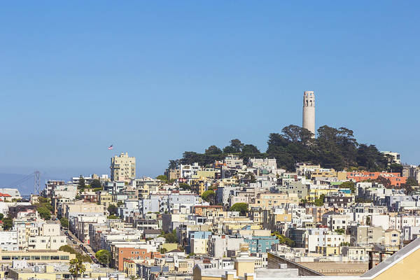 Photograph - San Francisco Coit Tower by Didier Marti