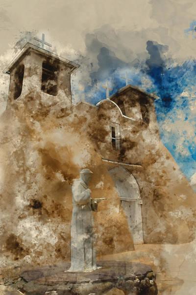 Wall Art - Mixed Media - San Francisco De Asis 2 by Kevin O'Hare