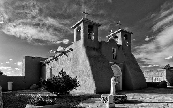 Photograph - San Francisco De Asis Mission Church 2 by Lou  Novick