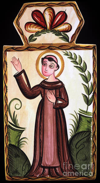Painting - San Francisco De Asis - St. Francis Of Assisi - Aofra by Br Arturo Olivas OFS