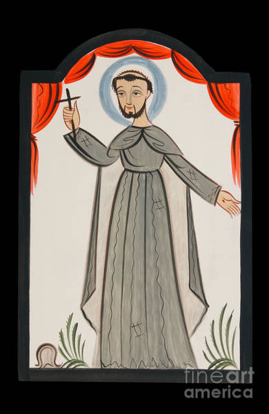 Painting - San Francisco De Asis - St. Francis Of Assisi - Aofrn by Br Arturo Olivas OFS