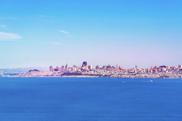 Wall Art - Photograph - San Francisco Downtown Skyline by Art Spectrum