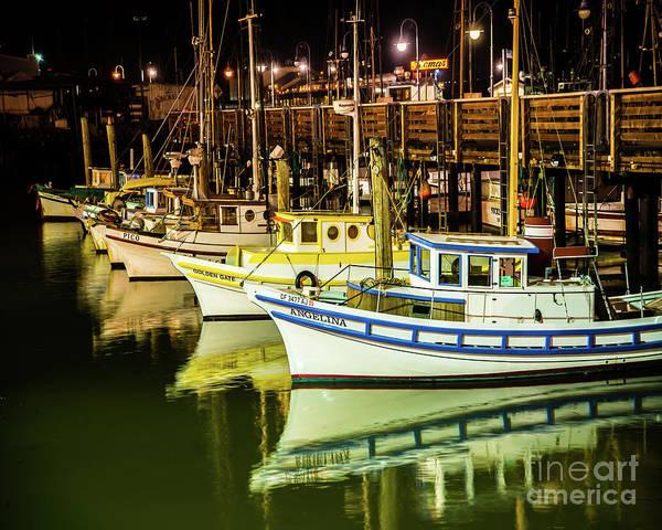 Wall Art - Photograph - San Francisco Fisherman's Wharf by Michael Tidwell